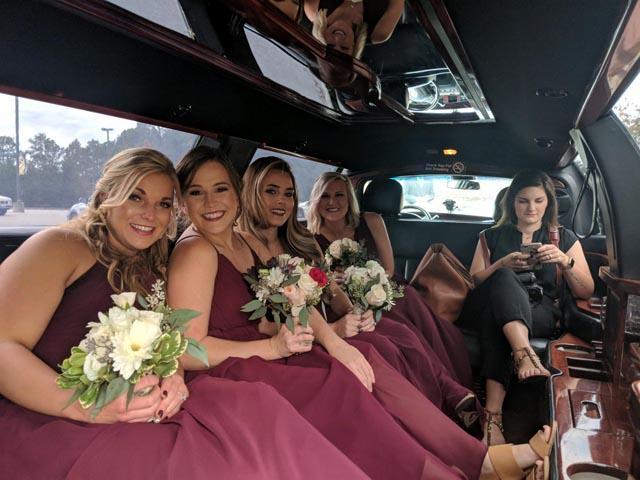 Wedding Party Bus Smithfield NC